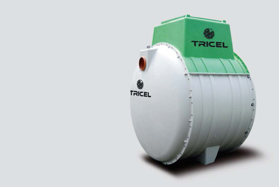 Tricel waste removal